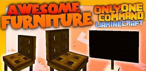 Furniture для Minecraft 1.8.8