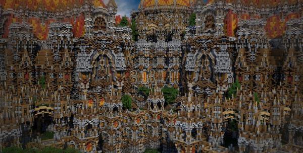 Mirador Castle для Minecraft 1.8.9