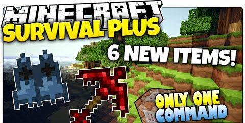 Survival Plus для Minecraft 1.8.8