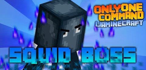 Squid Boss Fight для Minecraft 1.8.8