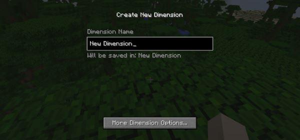 Simple Dimensions для Minecraft 1.8