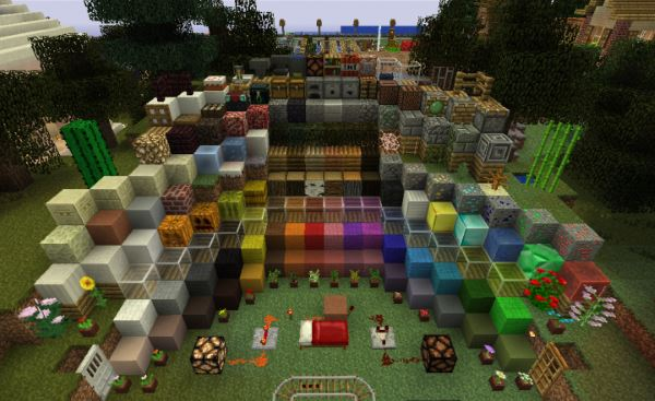 Default HD для Minecraft 1.8.9