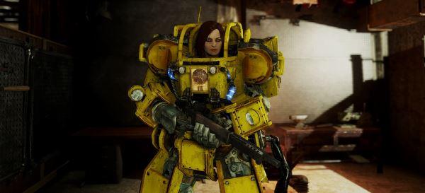 Строительная Силовая Броня для Fallout 4