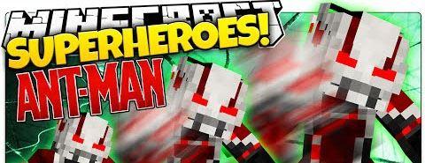 Ant-Man для Minecraft 1.8.8