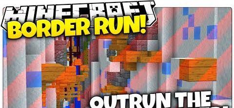 Border Run Parkour ��� Minecraft 1.8