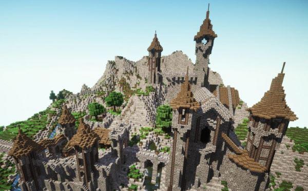 Epic Medieval Castle для Minecraft 1.8.9