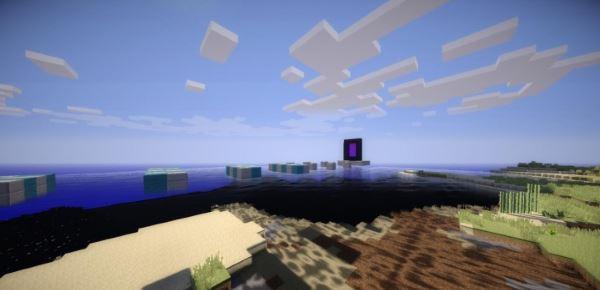Island Sprint Parkour для Minecraft 1.8.9