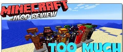 TooMuchArmor для Minecraft 1.7.10