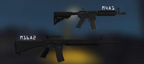 M4A1 | M16A2 для Fallout: New Vegas