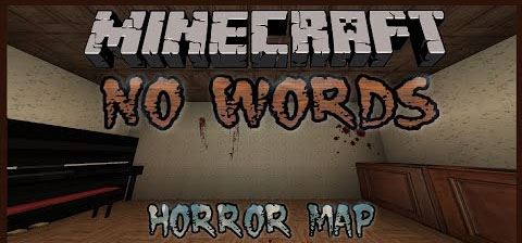 No Words Horror для Minecraft 1.8.9