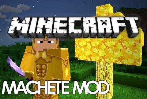 Machetes для Minecraft 1.8