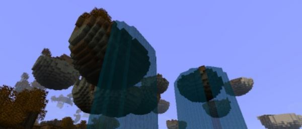 Floating Islands для Minecraft 1.8