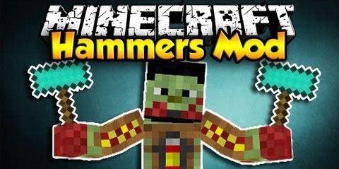 Hammers для Minecraft 1.8
