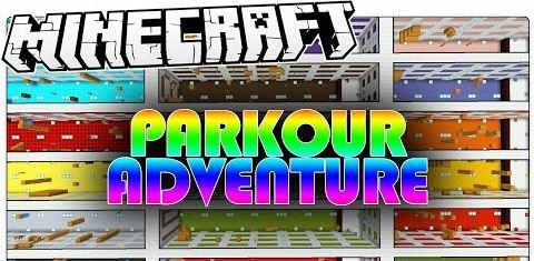 Parkour Adventure для Minecraft 1.8.9