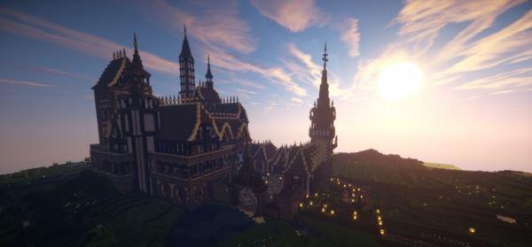Castle Boriani для Minecraft 1.8.9