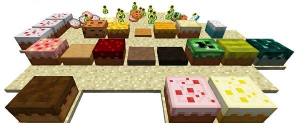 Cake is a Lie для Minecraft 1.7.10