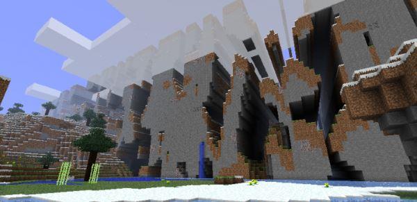 FarLands для Minecraft 1.7.10