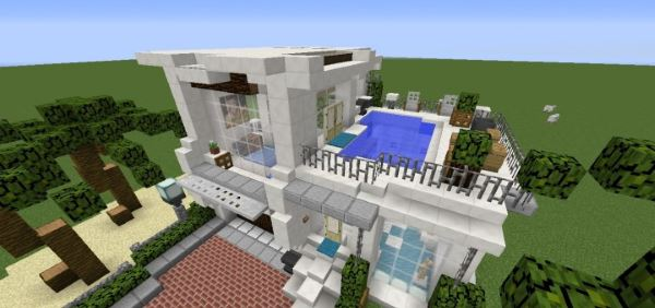 Simple Cali Modern House для Minecraft 1.8.9