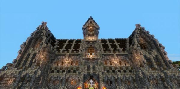 Psykoschlumpf's Cistercian Abbey для Minecraft 1.8.9