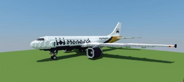 Airbus A300-600 для Minecraft 1.8.9