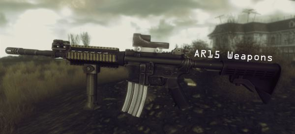AR15 / M16A2 / M4A1 - AR15 Weapons для Fallout: New Vegas