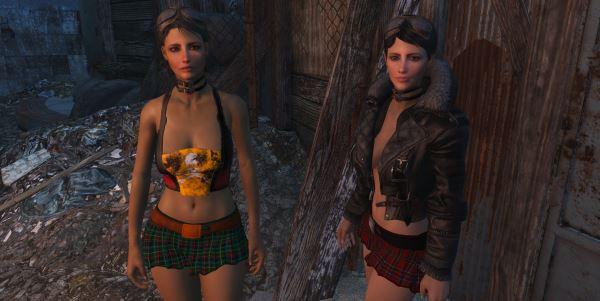 Отдельные юбки для Fallout 4