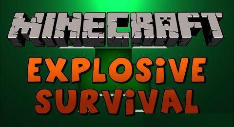Explosive Survival для Minecraft 1.9.2