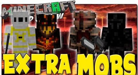 Extra Mobs для Minecraft 1.7.10