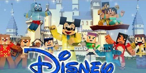 Disney для Minecraft 1.7.10