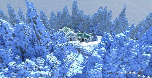 Survival Games (Ice Themed) для Minecraft 1.8.9