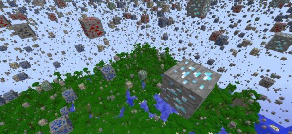 Inverse Ore Generator для Minecraft 1.8