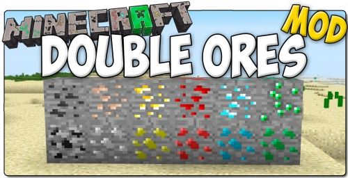 Double Ore для Minecraft 1.7.10