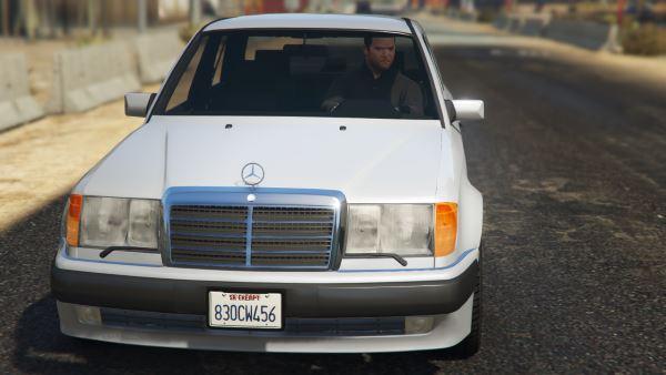 Mercedes-Benz 500E (W124) для GTA 5