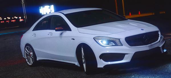 Mercedes-Benz CLA45 AMG для GTA 5