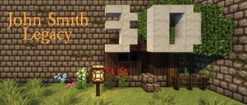 John Smith Legacy 3D для Minecraft 1.8.9