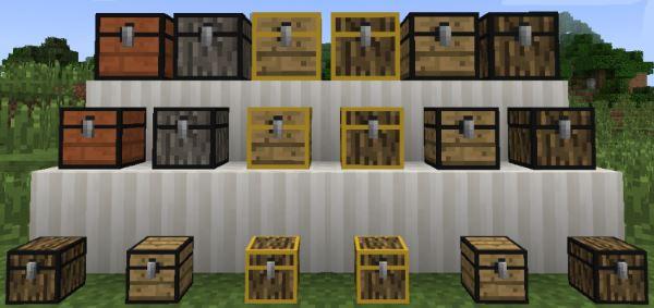 Tiny Storage для Minecraft 1.7.10