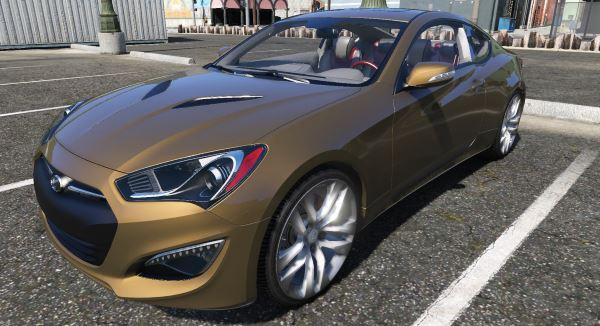 Hyundai Genesis Coupe для GTA 5