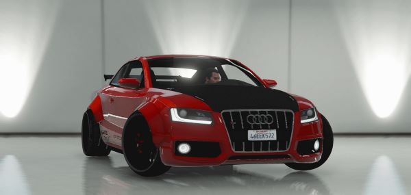 Audi S5 Custom для GTA 5