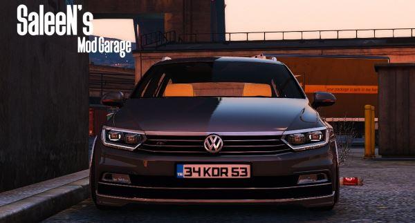 Volkswagen Passat Variant R Line для GTA 5