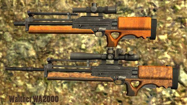 WA 2000 для Fallout: New Vegas