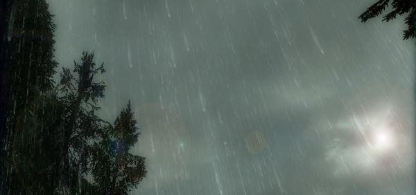 Дождь by Romas Bond для TES V: Skyrim