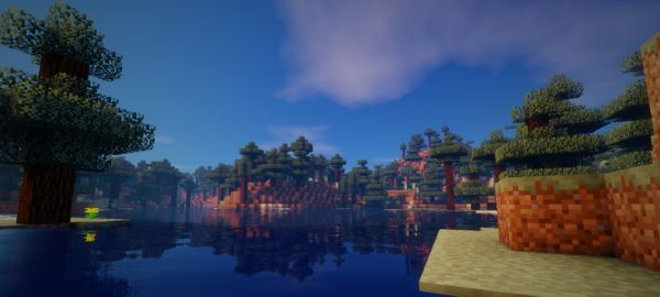 Ziipzaap's Shader Pack для Minecraft 1.8