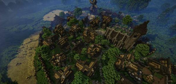 Epic Medieval Town для Minecraft 1.8.9