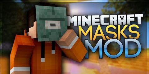Masks Mod by Hamster_Furtif для Minecraft 1.8