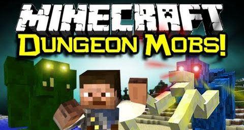 Dungeon Mobs для Minecraft 1.7.10