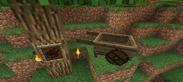 MC+ Cart & Loom для Minecraft 1.7.10