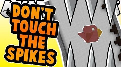 Don't Touch the Spikes для Minecraft 1.9.2