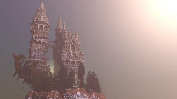 Citadel of Pandora для Minecraft 1.8