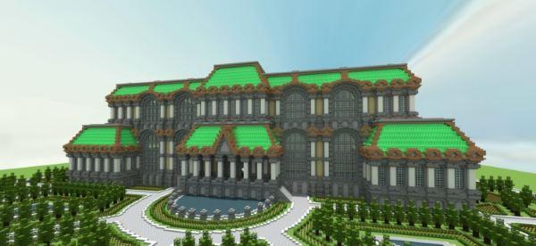 Second Empire Palace для Minecraft 1.8