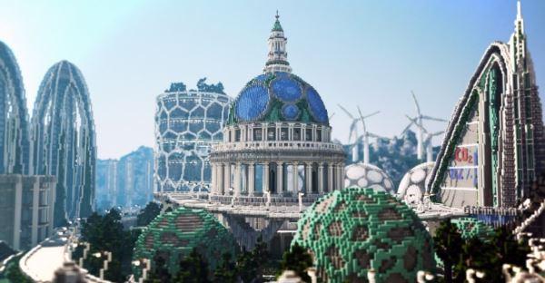 Climate Hope City для Minecraft 1.8